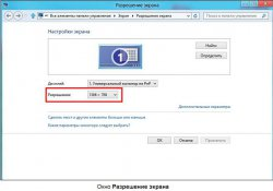 windows 8 смена разрешения